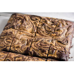 Peanut Butter Dark Chocolate Brownie